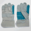 Cow Split Leather Reinforced Double Leather Palm Work Glove (3060.05)