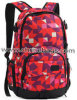 Designed Pattern Canvas Backpack for Girls Funtional Big