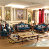 Sofa with Wood Table Cabinet for Living Room Furniture (521)