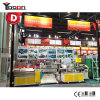 Single and Double Colors T5 T8 T10 PC LED Tube Light Housing Extrusion Machine