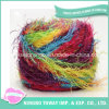 Acrylic Polyester Nylon Sequins Multicolored Pinaster Eyelash Fancy Yarn