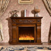 Simple European sculpture Heating Electrical Fireplace with Ce (324)