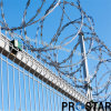 Razor Wire Using in Border Fence