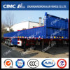 New High Tensile Steel Lightweight 3axle Fence Semi Trailer