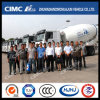 Cimc Huajun Concrete/Cement Mixer Truck Delivered to Customer