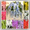 New Design Plastic Silk Wisteria Wedding Artificial Flower