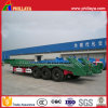 Engineering Machinery Transport Tri-Axle Lowbed Trailer