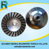 Romatools Diamond Cup Wheels of Aluminium Turbo for Granite