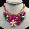 Multi Color Fashion 2014 Trendy Luxury Factory Supply Silver Jewelry Chain En0326o