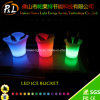 Bar Furniture Event Decorative LED Lighted Bucket
