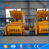 China Double Shaft Cheap Price Js500 Concrete Mixer