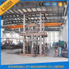 Warehouse Goods Lift Vertical Hydraulic Guide Rail Lift
