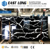 Premium Black Color Quartz Stone Polished Countertops for Homedecoration/Kitchen Design with 3200*1600mm