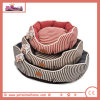 Stripe Pet Bed in Blue Red and Brown