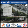 Cimc Huajun Flat Bed Semi Trailer with 1200mm Front Wall
