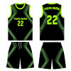 Boys and Girls Sublimation Basketball Jersey T Shirt Uniform