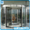 Super Big Revolving Door with Sliding Door in Center