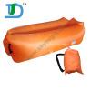 High Loading Capacity Banana Inflatable Air Sofa with Pockets