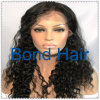 Fashion Virgin Brazilian Human Hair Curly Full Lace Wig