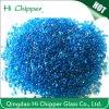 Ocean Blue Decorative Iridescent Glass Beads