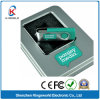 Free Sample High Quality 1/2/4/8GB Metal Swivel USB