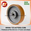 Heavy Duty PU Wheel with Cast Iron Center, 200*50mm