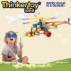 Plastic Educational DIY Helicopter Toy for Fun at Home