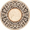 Marble Flooring Waterjet Medallion for Interior Decoration