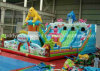 How Newest Inflatable Toy Bouncy Slide for Amusement Park