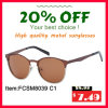 Fcsm8093 New Design Good Quality Hotsale Unisex Metal Sunglasses