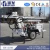 Welcomed in South Ameraica! High Efficiency Hf120W Trailer Hydraulic Small Well Drill Rigs