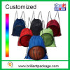 Drawstring Sports Backpack Mesh Bag Polyester Drawstring Bag
