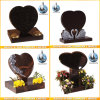 Quality Granite Headstone Heart Shaped