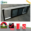 PVC Sliding Window with Wooden Color and Fly Screen