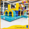Inflatable Football Star Obstacle Course (aq1477)