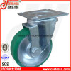 4 Inch Blue PU Swivel Castor Wheel
