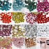 Top Glossy Wholesale Flatback Crystal Nail Art Rhinestone Beads
