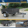6X4 7X4 7X5 8X4 8X5 Hot Dipped Galvanized Cage Trailer/Box Trailer /Trap Trailer