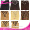 High Quality 100% Human Hair Clip-in Hair Extension 18""