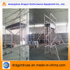 Portable Single Width Aluminum Scaffold, Construction Scaffold for Sale