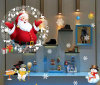 for Sweet Decoration Christmas Window Stickers