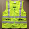 24PCS LED Flashing Yellow OEM Reflective Vest