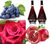Top Wild Rose Grape Pomegranate Wine/Sweet, Rich Anthocyanin, Amino Acids, Anticancer, Antiaging, 100% Natual Aphrodisiac Wine