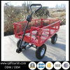 Steel Mesh Tool Cart Tc1840A for Garden Tool Trolley
