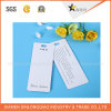 Eco-Friendly White Cardboard Garment Accessories Label Hang Tag