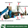 500-600kg/H Waste HDPE LDPE Flakes Extruder for Recycling The Waste Plastic