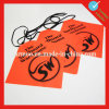 30*30cm Custom Red PVC Safety Flag