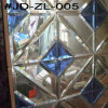 Blue Crystal Glass Mirror Tile for Room Decor