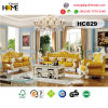 Antique Furniture European Style 1+2+3 Wood Sofa (HC829)