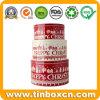 Food Grade Metal Cake Tin Box of 3 Round Boxes
